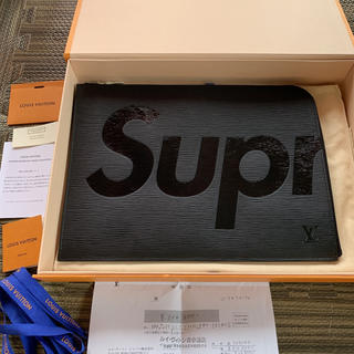 Supreme - Supreme Louis vuitton Epi GM BLACK LV