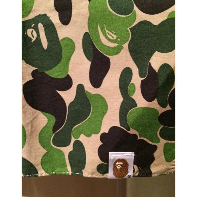 A BATHING APE(アベイシングエイプ)のBAPE シャーク バンダナ 希少 APE カモ メンズのファッション小物(バンダナ/スカーフ)の商品写真