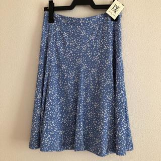 エムケーミッシェルクラン(MK MICHEL KLEIN)の新品☆ミッシェルクラン 鳥の模様のスカート(ひざ丈スカート)