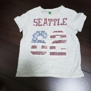 ベネトン(BENETTON)のベネトン半袖Tシャツ 男女兼用 90 (Tシャツ/カットソー)