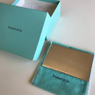 ティファニー(Tiffany & Co.)の定価45000円 ティファニー 名刺入れ(名刺入れ/定期入れ)