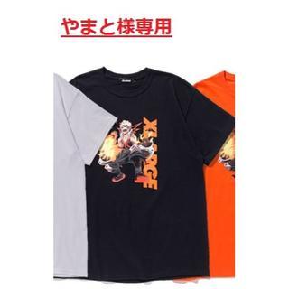 エクストララージ(XLARGE)のやまと様、専用:XLARGE TEE BAKUGO 爆豪の黒 L 1枚(Tシャツ/カットソー(半袖/袖なし))
