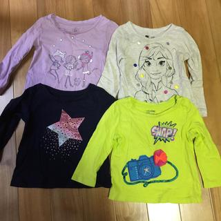 ベビーギャップ(babyGAP)の女の子  ロンTセット  80(Tシャツ/カットソー)
