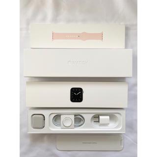 アップルウォッチ(Apple Watch)のApple Watch 5 ステンレス (腕時計(デジタル))