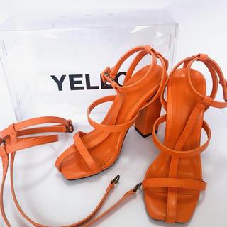 イエローブーツ(Yellow boots)の【完売品】YELLO FLORIDA ORANGE SANDALS (サンダル)