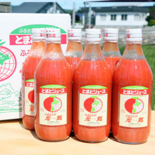 【アウトレット品】トマトジュース ふるさとの元気 500m×6本セット(野菜)