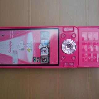 エヌティティドコモ(NTTdocomo)のdocomo P-03D Panasonic ピンク(携帯電話本体)