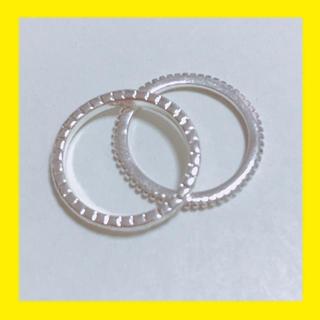 指輪 リング 2本セット(リング(指輪))