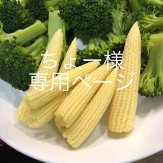 ちょー様専用ページ ヤングコーン (野菜)