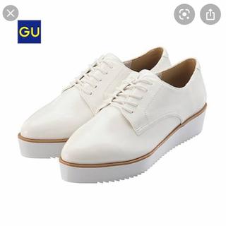 ジーユー(GU)のオックスフォードシューズ ポインテッドオックスフォードシューズ(ローファー/革靴)