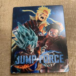 プレイステーション4(PlayStation4)のJUMP FORCE ジャンプ フォース スチールブックケース ルフィ 孫悟空(キャラクターグッズ)