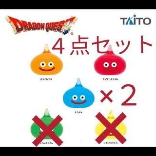 タイトー(TAITO)の【新品 4点セット】ドラゴンクエスト AM スライム ビッグクリア フィギュア(キャラクターグッズ)