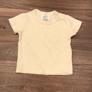 マーキーズ(MARKEY'S)の【MARKEY'S】Tシャツ ベージュ 80センチ(Tシャツ)