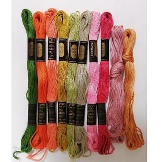 オリンパス(OLYMPUS)の刺繍糸 OLYMPUS 10本★05★オリムパス 刺しゅう糸 (生地/糸)