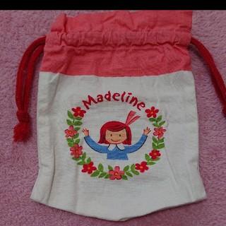ファミリア(familiar)のfamiliar マドレーヌちゃん 巾着(ランチボックス巾着)