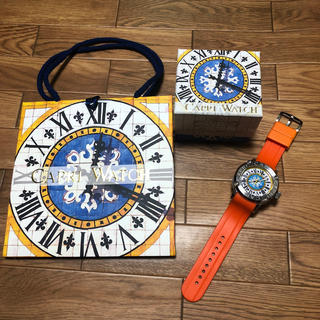 カプリウォッチ(CAPRI WATCH)の<値下げ!>Capri Watch オレンジ(ラバーベルト)
