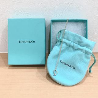 ティファニー(Tiffany & Co.)のティファニー ラビングハート ネックレス(ネックレス)