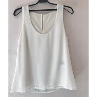 リゼクシー(RESEXXY)のRESEXXY ブラウス ホワイト F(シャツ/ブラウス(半袖/袖なし))