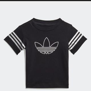 アディダス(adidas)の新品未使用 adidas アウトライン 半袖Tシャツ 80(Tシャツ)