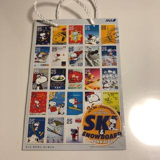 エーエヌエー(ゼンニッポンクウユ)(ANA(全日本空輸))の【最終値下げ/非売品】ANA's SKI 紙袋(2枚)(ショップ袋)