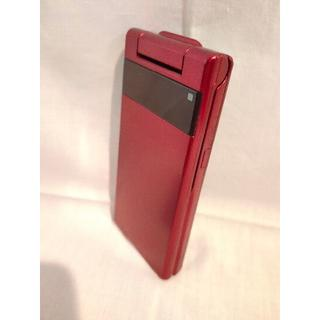 WILLCOM KYOCERA WX01K RED 初期化済 Y!mobile