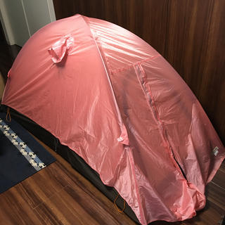 アライテント(ARAI TENT)のアライテント エアライズ1  朱鷺色 ピンク 150張限定品(登山用品)