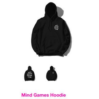 ANTI SOCIAL SOCIAL CLUB Mind Games Hoody(パーカー)