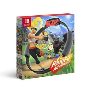 ニンテンドースイッチ(Nintendo Switch)の新品未開封 リングフィットアドベンチャー(家庭用ゲームソフト)