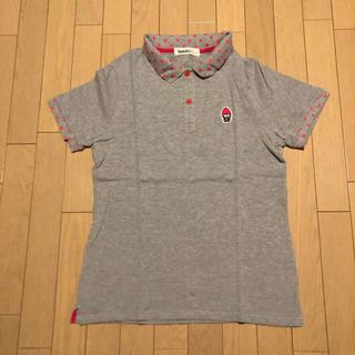 ランドリー(LAUNDRY)のLaundry イチゴキャラワッペン ポロシャツ Mサイズ(ポロシャツ)