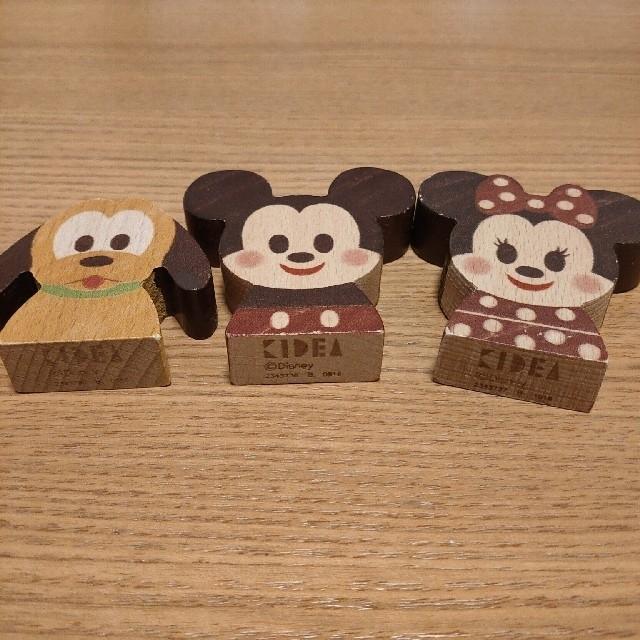 Disney(ディズニー)のDisney KIDEAミッキー ミニー プルート キッズ/ベビー/マタニティのおもちゃ(積み木/ブロック)の商品写真