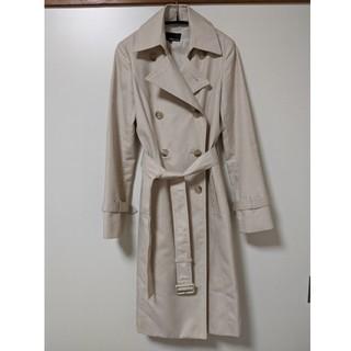 エムプルミエ(M-premier)のMプルミエ ベージュトレンチコート 春 コート スプリングコート 34(ロングコート)
