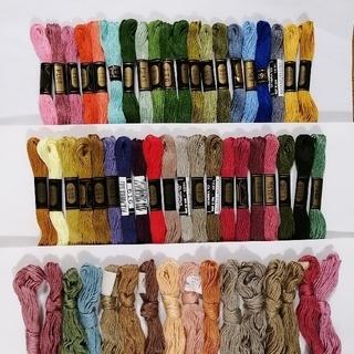 オリンパス(OLYMPUS)の刺繍糸 OLYMPUS★56本★set  オリムパス 25番 刺しゅう糸(生地/糸)