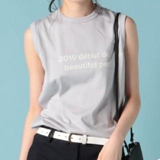 ビューティフルピープル(beautiful people)のbeautiful people ロゴタンクトップ(Tシャツ(半袖/袖なし))