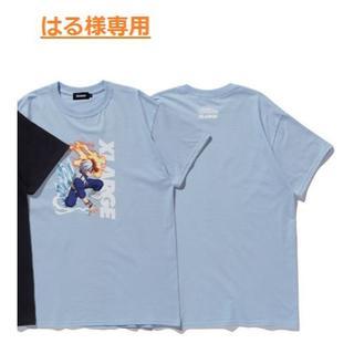 エクストララージ(XLARGE)のはる様、専用:XLARGE TEE Todoroki 轟Lサイズの水色 1枚(Tシャツ/カットソー(半袖/袖なし))
