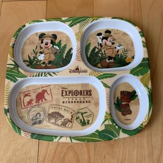 ディズニー(Disney)の香港ディズニー エクスプレスロッジ お皿 プレート(プレート/茶碗)