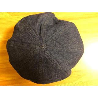 ビームス(BEAMS)のデニム素材 ベレー帽(ハンチング/ベレー帽)