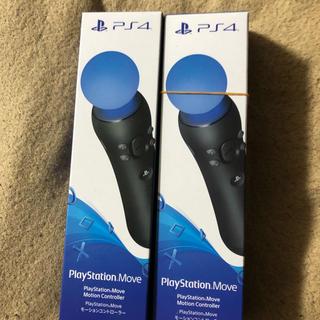 プレイステーションヴィーアール(PlayStation VR)のモーションコントローラー ps4   2個セット(家庭用ゲーム機本体)