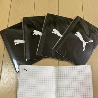 プーマ(PUMA)の新品 PUMA ノート5冊セット(ノート/メモ帳/ふせん)