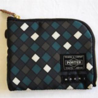 マルニ(Marni)の最終◎◎MARNI×PORTER☆ミニ財布☆新品未使用☆マルニ ポーター(折り財布)