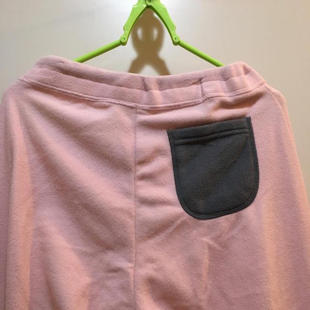 フリーススエットパンツピンク レディースのルームウェア/パジャマ(ルームウェア)の商品写真