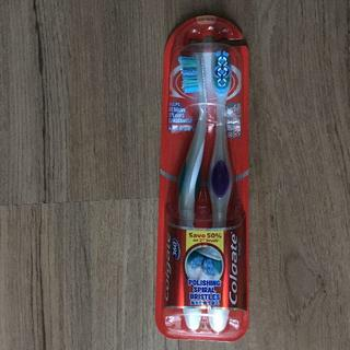 コルゲート 歯ブラシ360 2本 男性向け(日用品/生活雑貨)