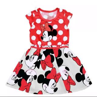 ディズニー(Disney)の【送料無料】ミニーちゃんプリンセスドレス(ミニワンピース)