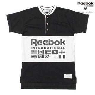 リーボック(Reebok)のMELODY EHSANI X REEBOK HENLEY  Tシャツ(Tシャツ(半袖/袖なし))