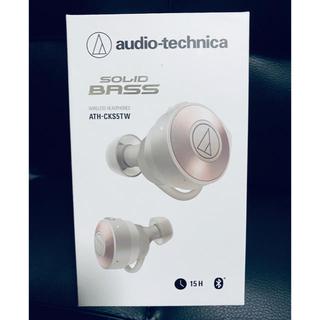 オーディオテクニカ(audio-technica)のATH-CKS5TW SOLID BASS 完全ワイヤレスイヤホン、ヘッドホン(ヘッドフォン/イヤフォン)