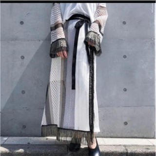 stair 2018SS フリンジ巻きスカート