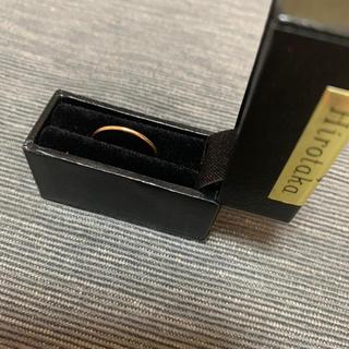 エストネーション(ESTNATION)のHirotaka シンプルリング 1号 美品 ドゥーズィエムクラス(リング(指輪))