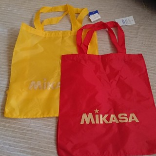 ミカサ(MIKASA)のミカサ レジャーバッグ 2枚セット(エコバッグ)