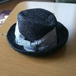 ネストローブ(nest Robe)のcontrol  freak    帽子(麦わら帽子/ストローハット)