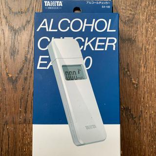タニタ(TANITA)のタニタ アルコールチェッカー EA-100 新品・未使用(口臭防止/エチケット用品)