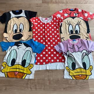 ディズニー(Disney)のディズニーTシャツ 5枚セット(Tシャツ/カットソー(半袖/袖なし))